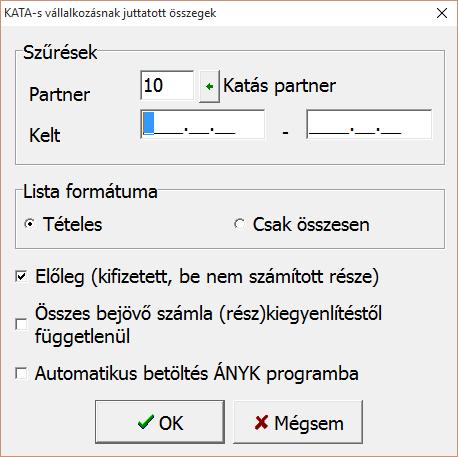 Kata-s adatszolgáltatás
