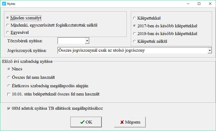 Nyitási képernyő
