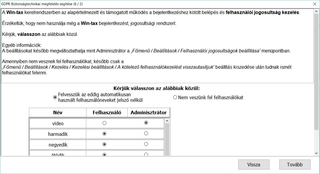 GDPR Biztonságtechnikai megfelelés segítése (6/2)