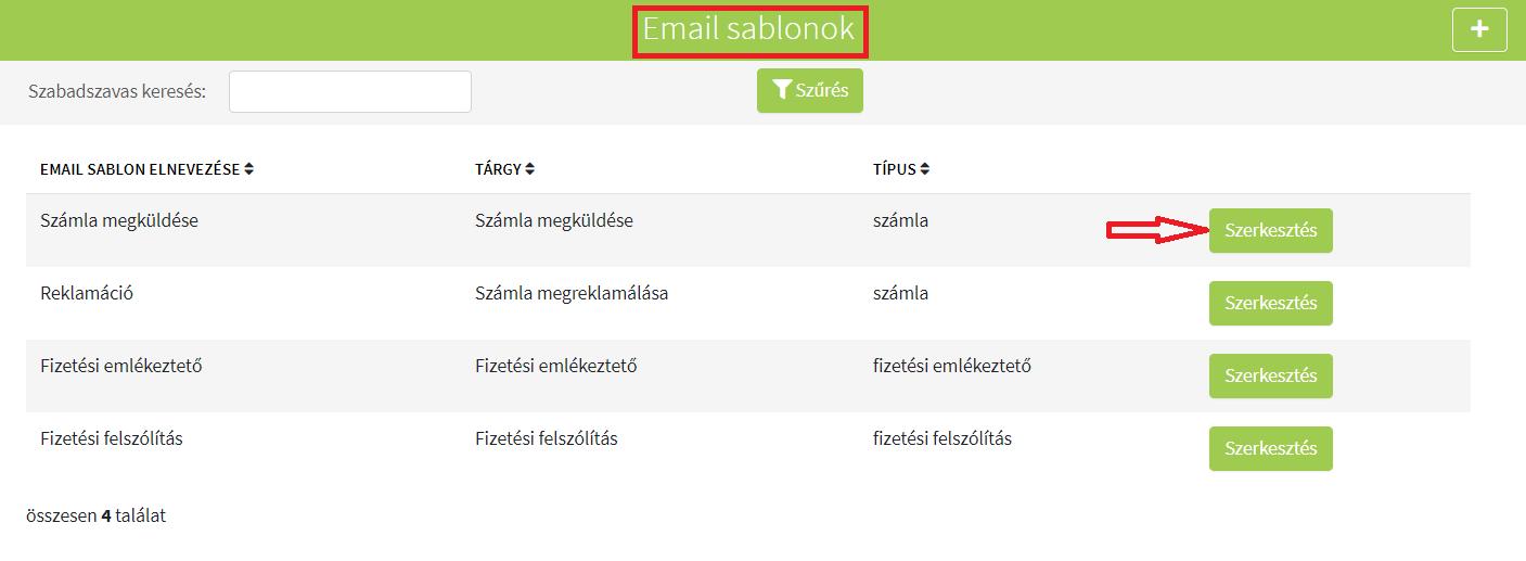Saját törzsek_E_mail sablon módosítása1