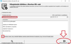 WebBér hibabejelentés ill. szükséges log file-ok küldése